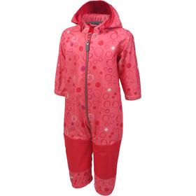 Color Kids Tajo Mini Softshell Coverall Girls Sugar Coral